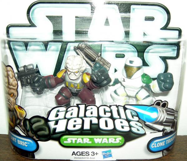 Sergeant Bric Clone Trooper Echo Galactic Heroes