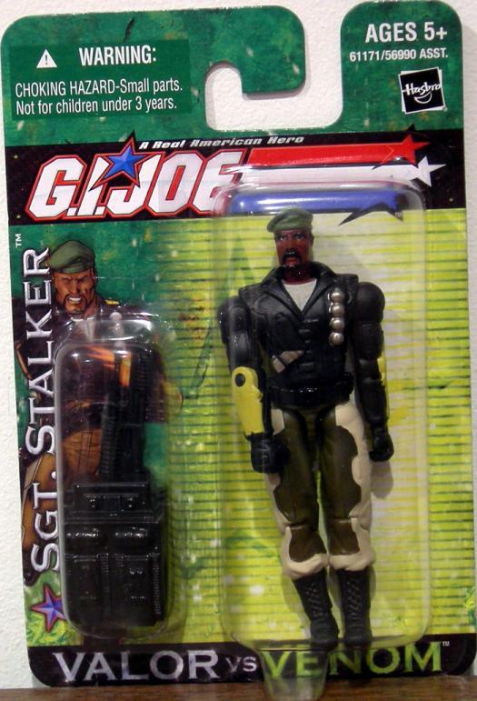 Sgt Stalker Valor vs Venom action figure
