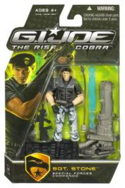 Sgt Stone - Special Forces Commando Rise Cobra action figure