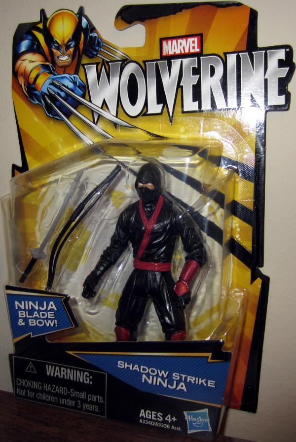 Shadow Strike Ninja Wolverine Movie action figure