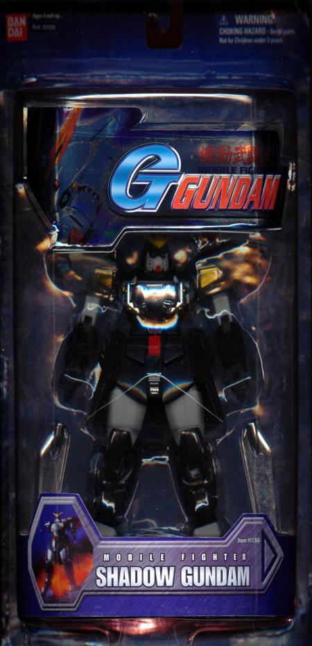 Shadow Gundam 7 1-2 inch