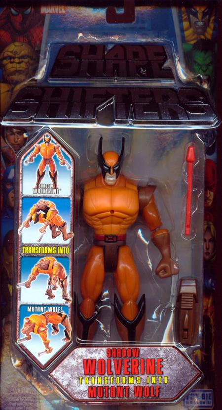 Shadow Wolverine Shape Shifters