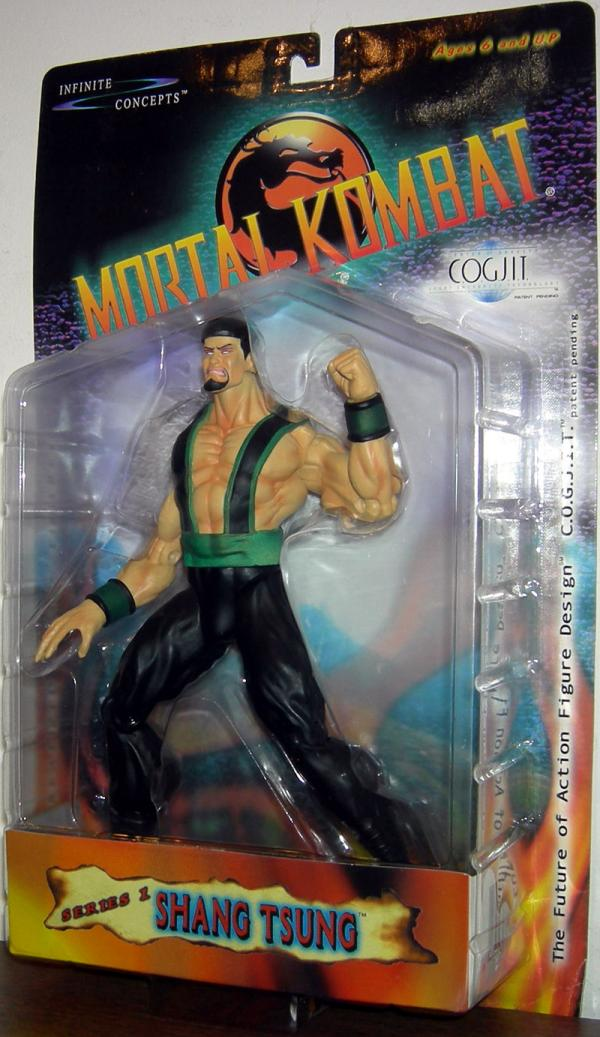 Shang Tsung Action Figure COGJIT Mortal Kombat Infinite Concepts