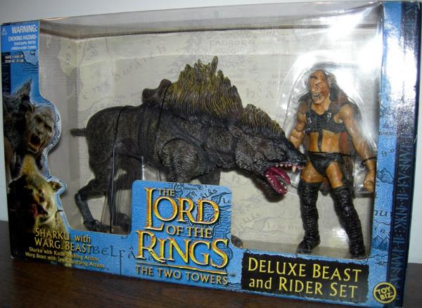 Sharku Warg Beast Figures Lord Rings Two Towers