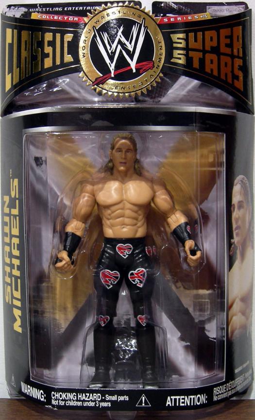 Shawn Michaels Figure Series 15 No Gear WWE Classic SuperStars