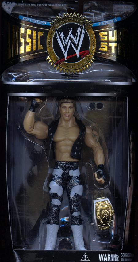 Shawn Michaels Heartbreak Kid black suit