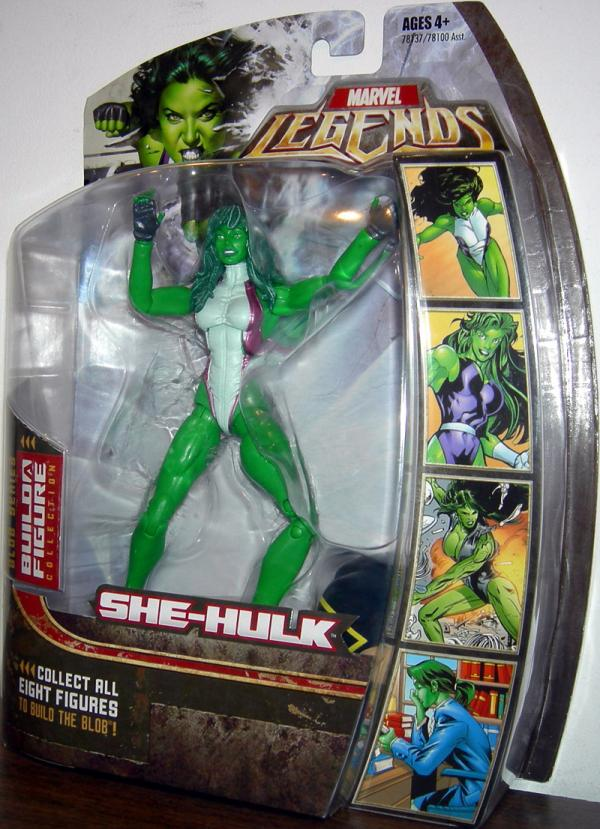 She Hulk Marvel Legends Figure Blob Series Hasbro