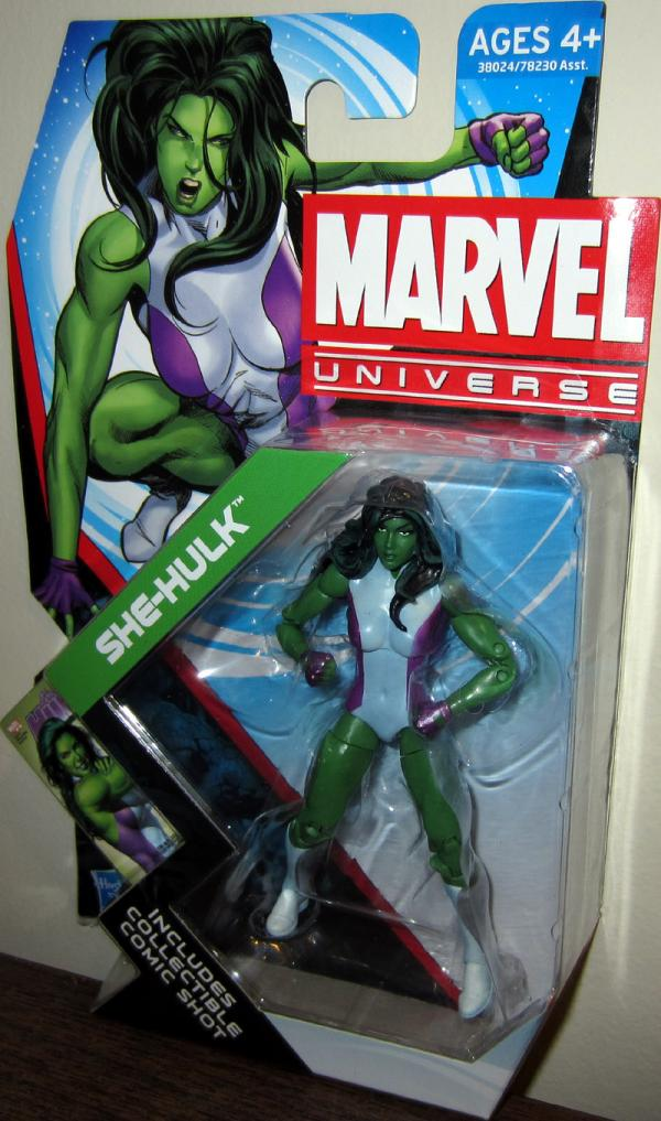 She-Hulk Figure Marvel Universe Series 4 012 Hasbro