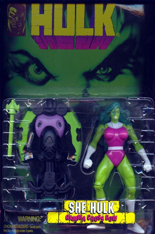 She Hulk gamma crossbow