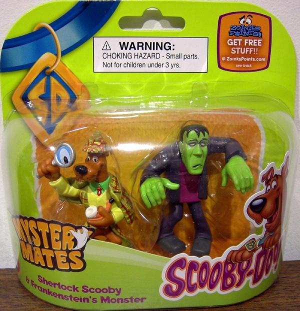 Sherlock Scooby Frankensteins Monster Mystery Mates