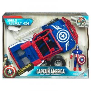 Captain America Shield Assault 4X4 with Launching Missile