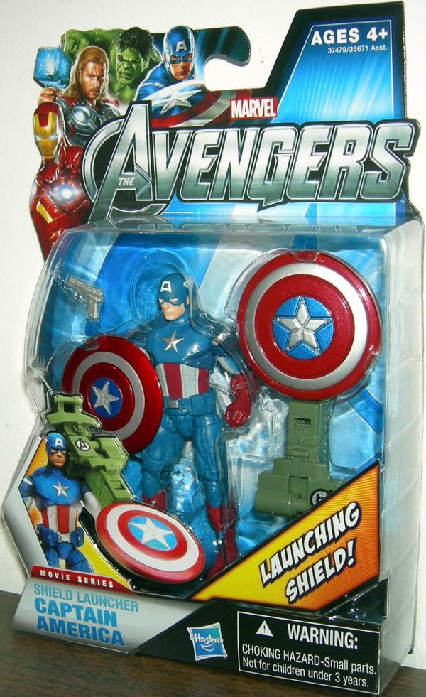 Shield Launcher Captain America 10 Avengers action figure