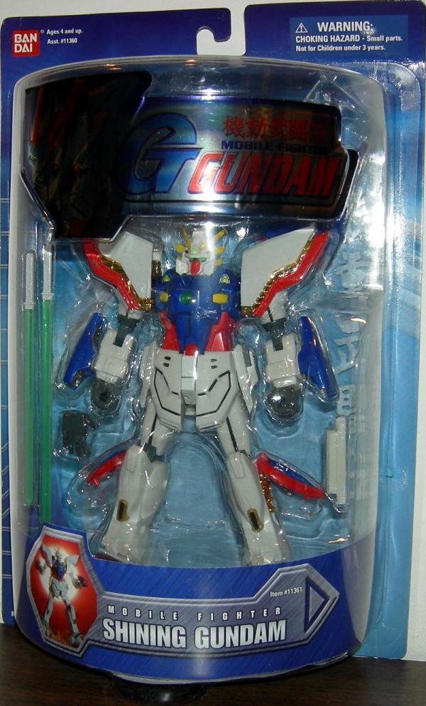 Shining Gundam 7 1-2 inch