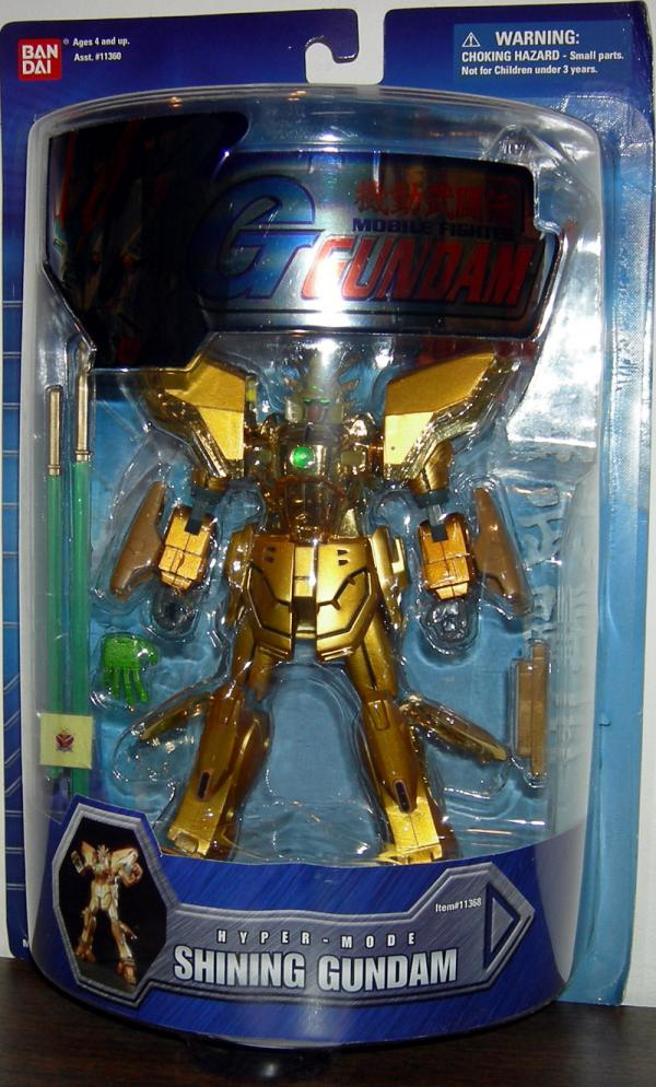 Shining Gundam 7 1-2 inch Hyper-Mode