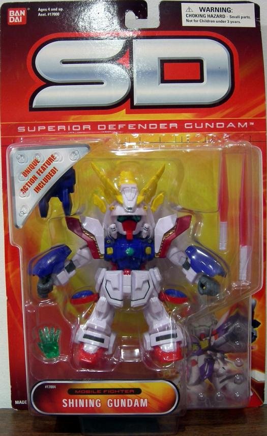 Shining Gundam Superior Defender Mobile Suit action figure