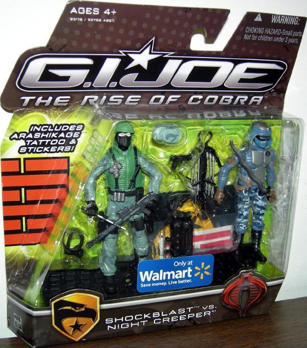 Shockblast vs Nightcreeper Rise Cobra