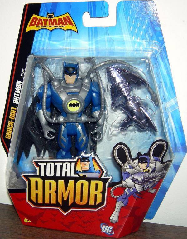 Shock-Suit Batman Total Armor