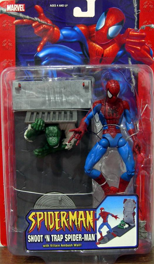 Shoot N Trap Spider-Man Classic action figure