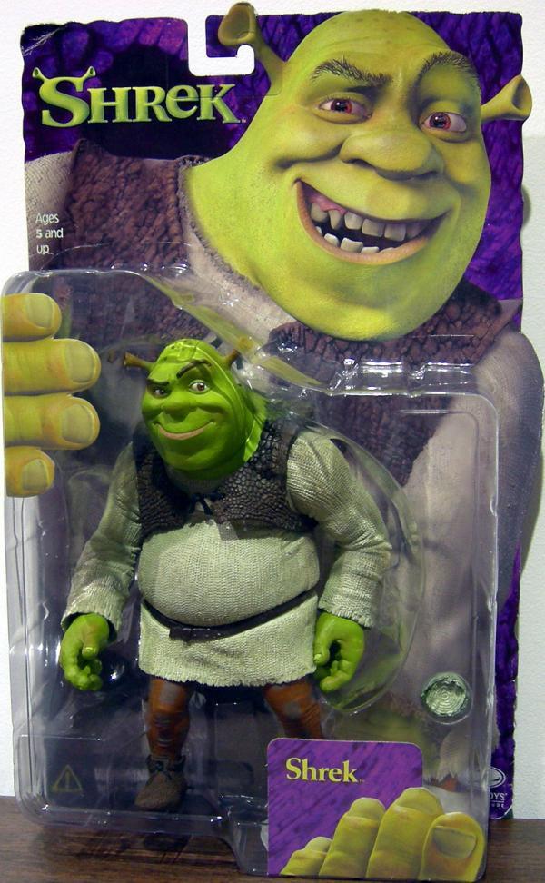 Shrek mouth closed