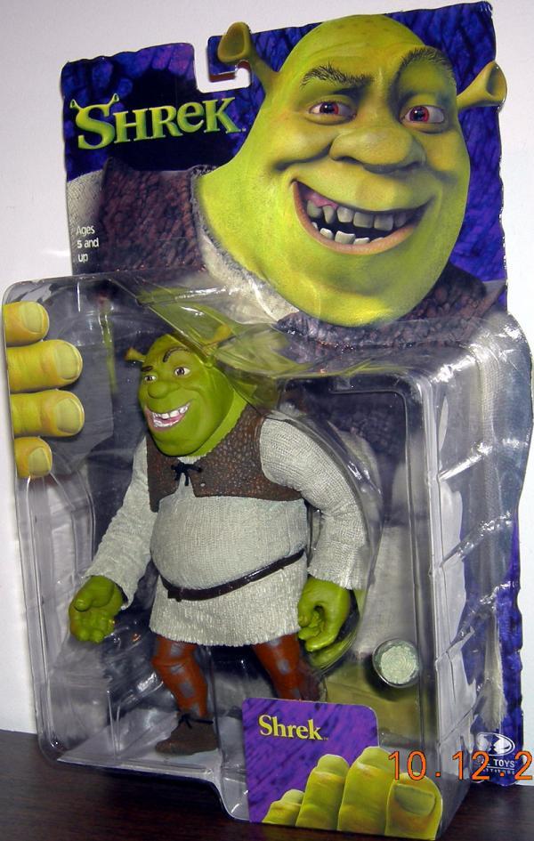 Shrek mouth open