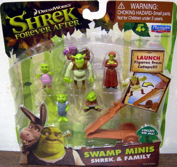 Shrek Family Swamp Minis