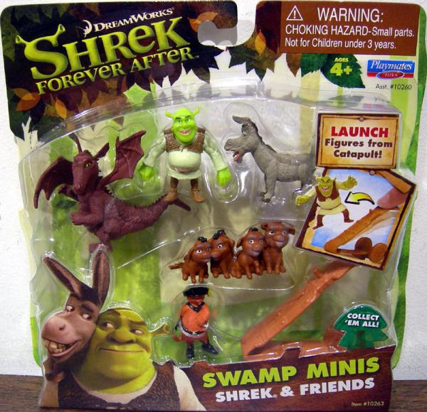 Shrek Friends Swamp Minis