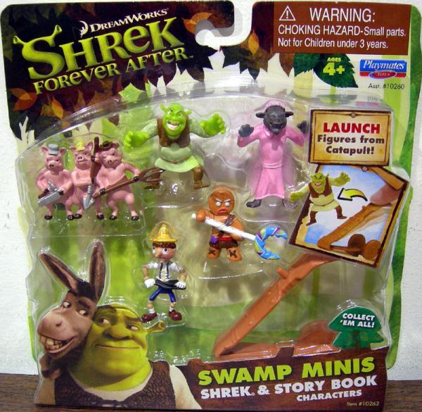 Shrek Story Book Characters Swamp Minis