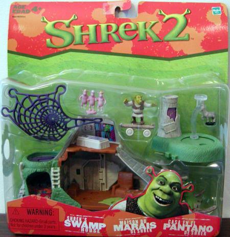 Shreks Swamp House Shrek 2 Movie action figures