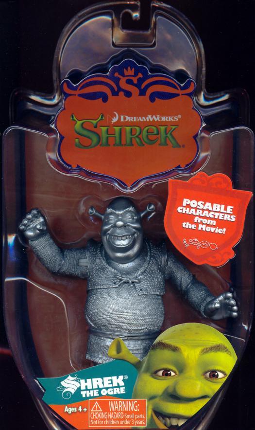 Shrek Ogre silver variant