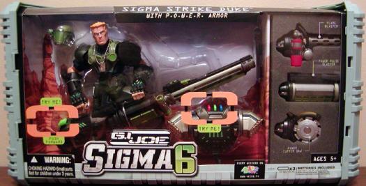 Sigma Strike Duke POWER armor Sigma 6