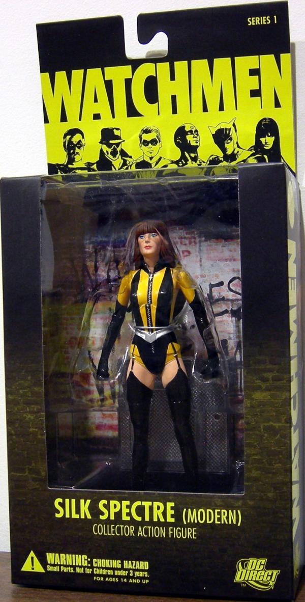 Silk Spectre Modern Watchmen action figure