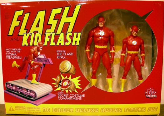 Silver Age Flash Kid Flash DC Direct