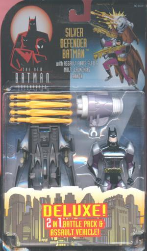 Silver Defender Batman