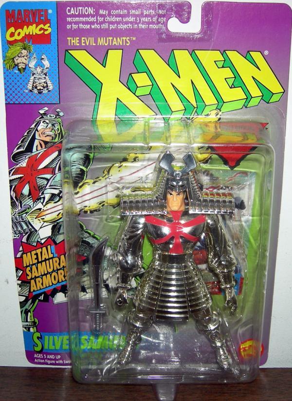 Silver Samurai Figure Evil Mutants X-Men Toy Biz