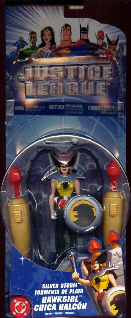 Silver Storm Hawkgirl Justice League