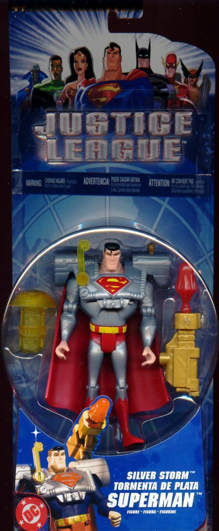 Silver Storm Superman silver