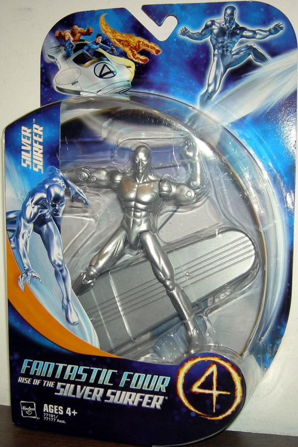 Silver Surfer Figure Fantastic 4 Four Rise Movie