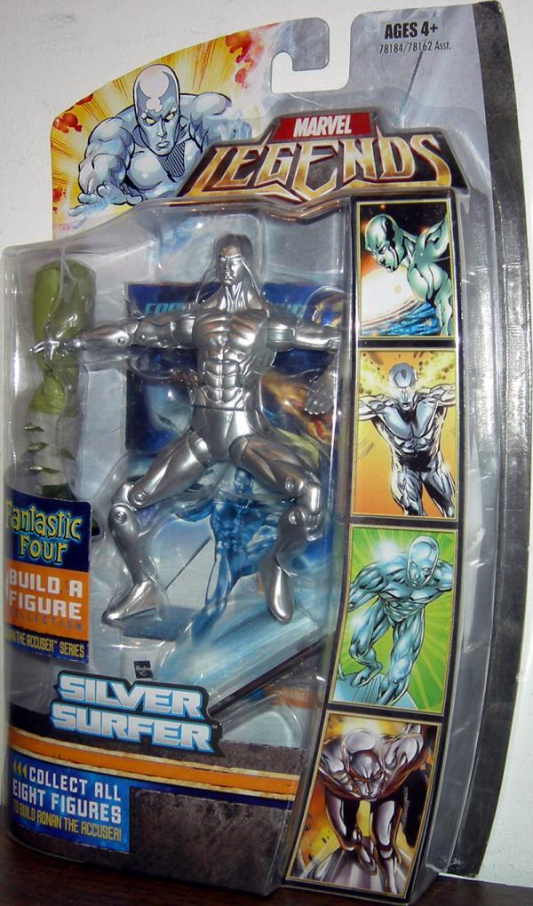 Silver Surfer Figure Ronan Accuser Series Marvel Legends
