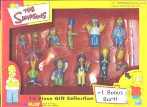 Simpsons 10 Piece PVC Gift Collection