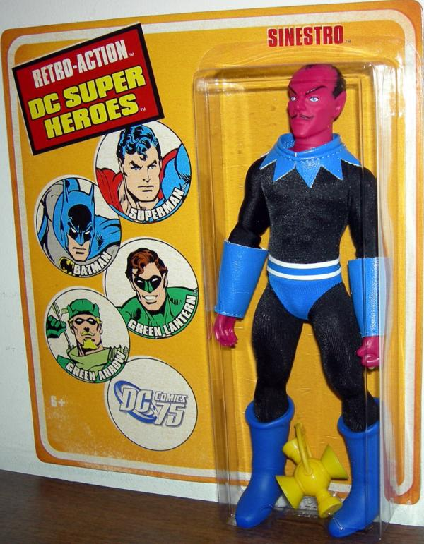 Sinestro Retro-Action DC Super Heroes action figure