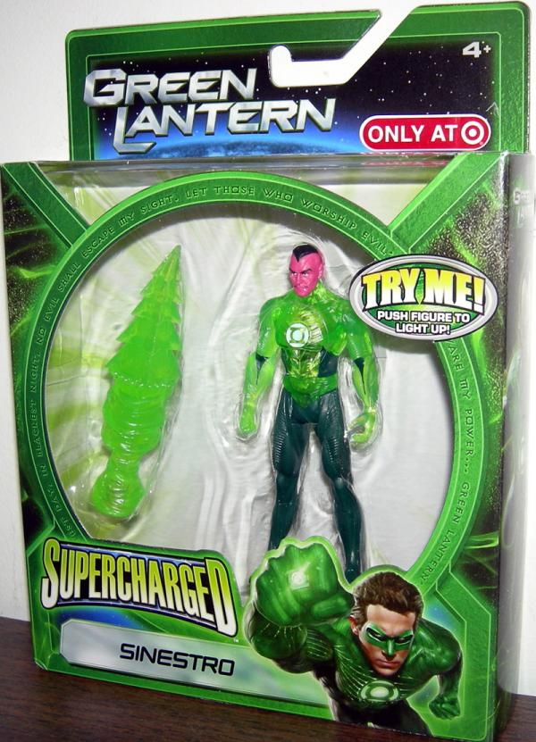 Sinestro Supercharged Target Exclusive