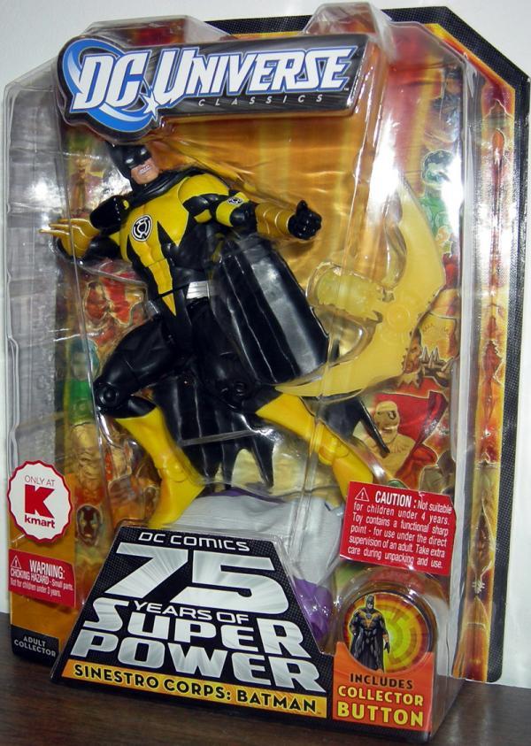 Sinestro Corps- Batman DC Universe