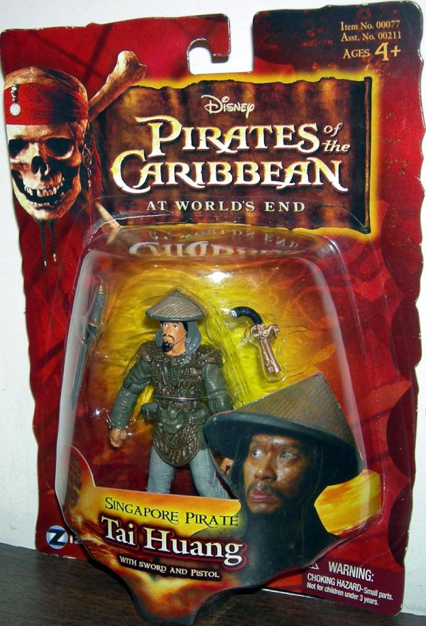 Singapore Pirate Tai Huang Action Figure Worlds End Pirates Caribbean