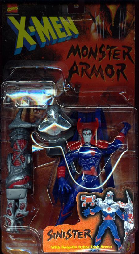 Sinister Action Figure Monster Armor X-Men Toy Biz