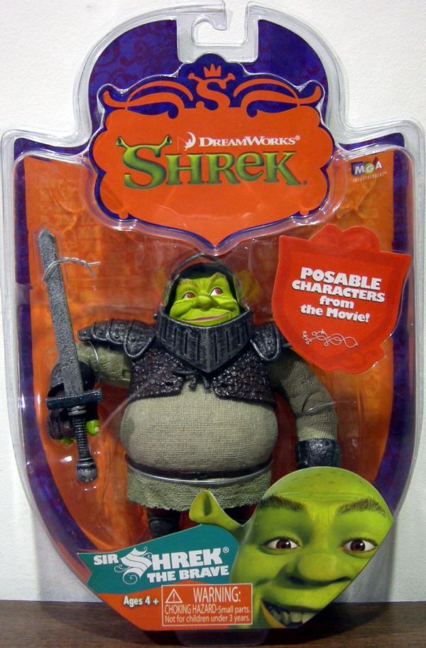 Sir Shrek Brave