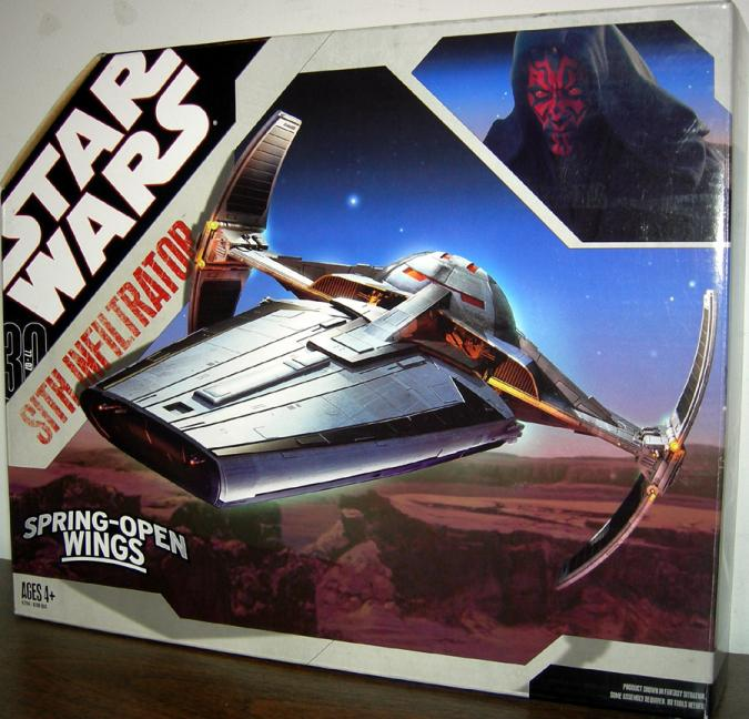Sith Infiltrator Vehicle 30th Anniversary Star Wars