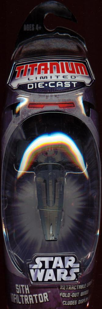 Sith Infiltrator Titanium Limited Die-Cast MicroMachine