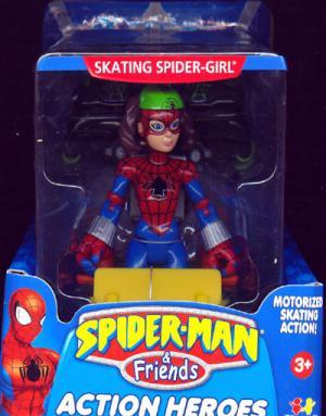 Skating Spider-Girl