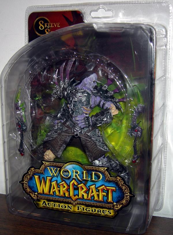 Undead Rogue Skeeve Sorrowblade World Warcraft action figure