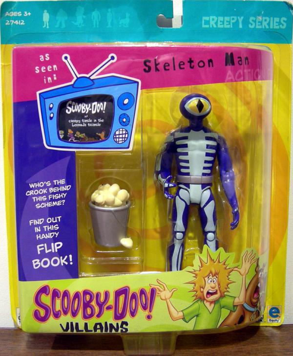 Skeleton Man Scooby-Doo Creepy Series action figure